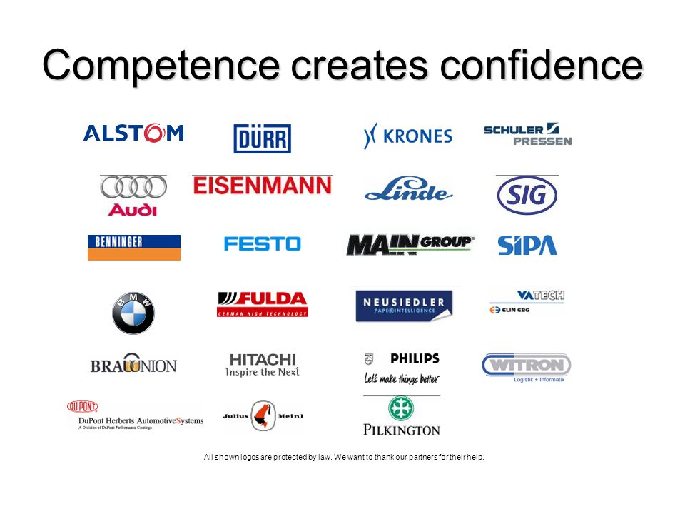 Competence creates confidence