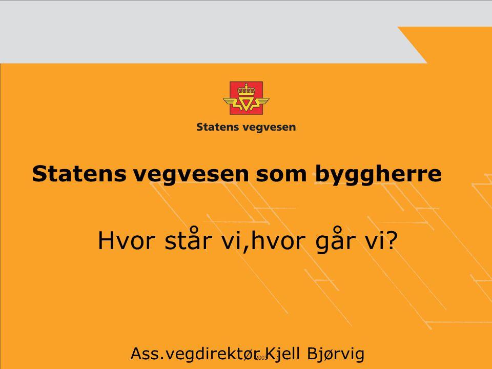 Statens vegvesen som byggherre