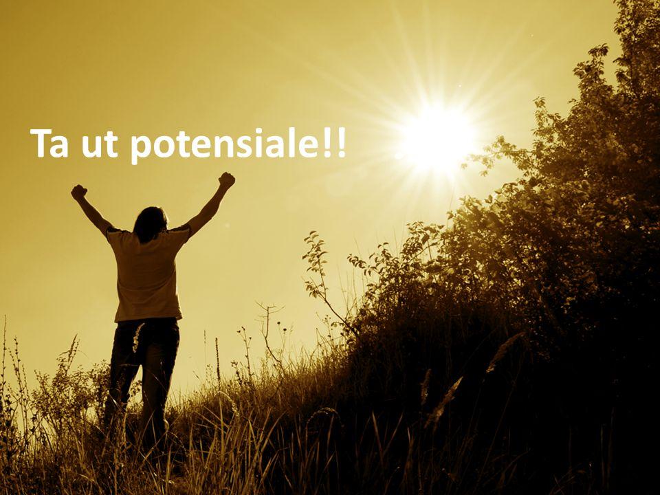 Ta ut potensiale!! Ta ut potesialet