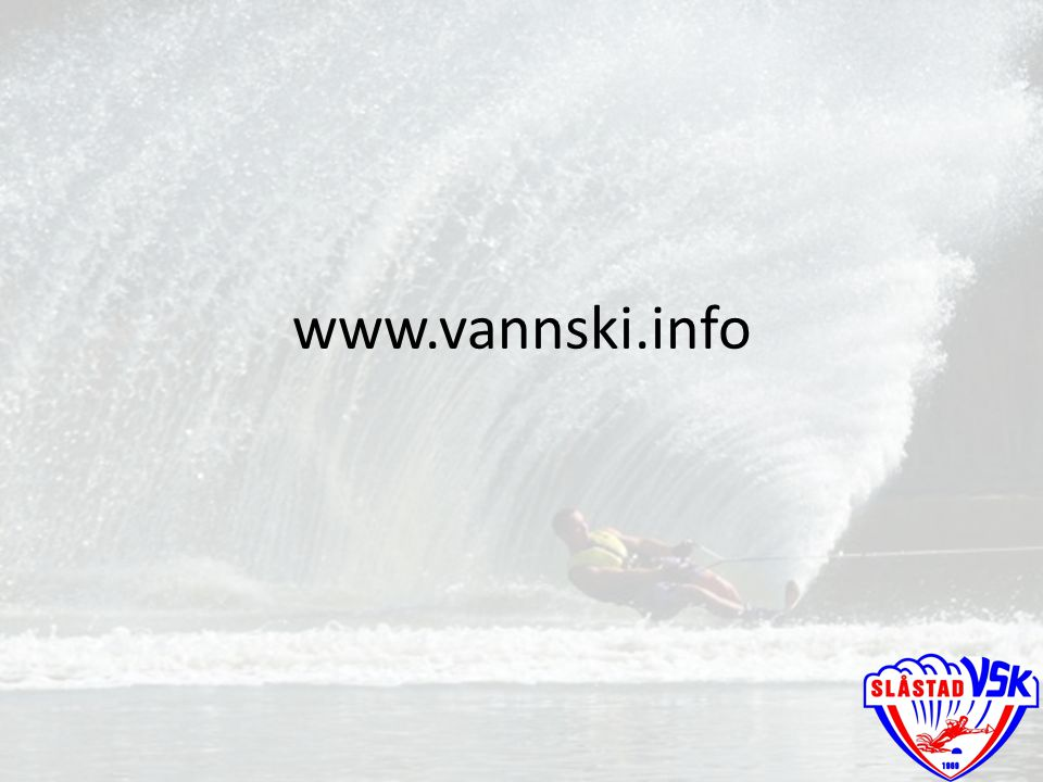 www.vannski.info Daglig: Over 7000 treff i sesong