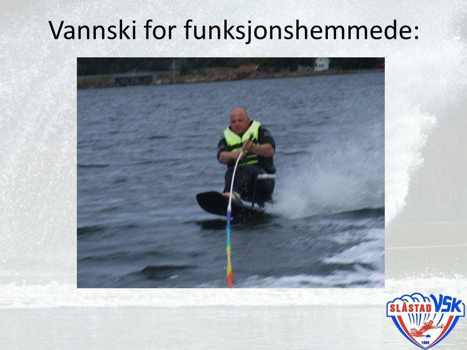 Vannski for funksjonshemmede: