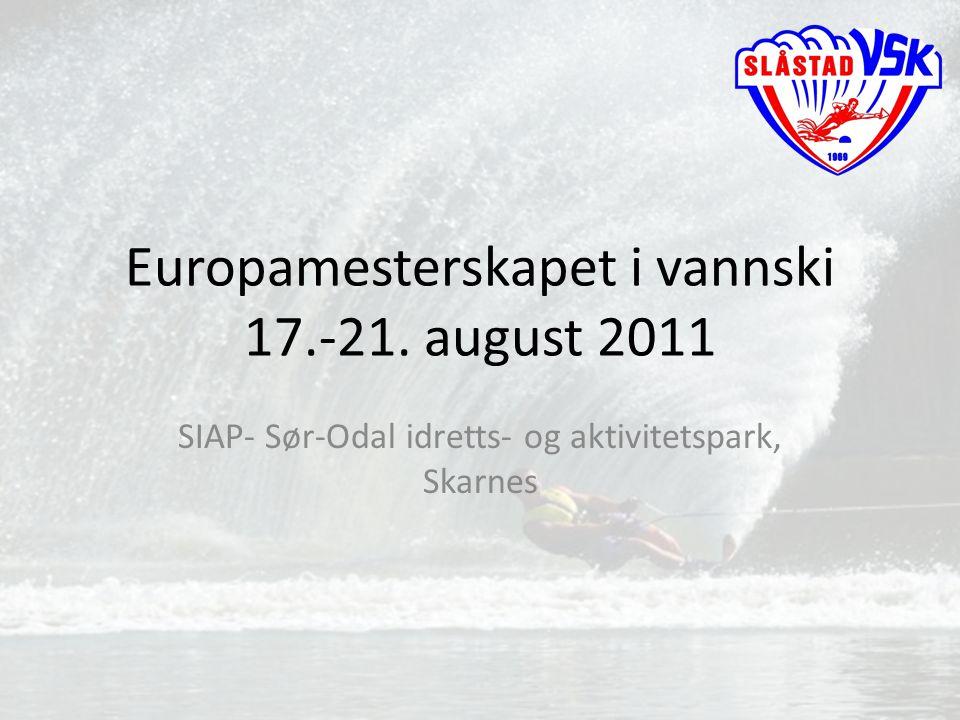 Europamesterskapet i vannski 17.-21. august 2011