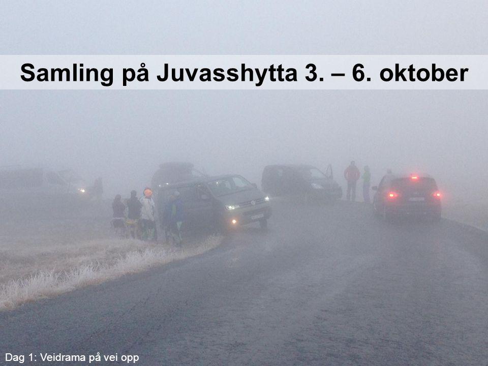 Samling på Juvasshytta 3. – 6. oktober