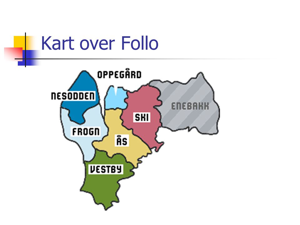 Kart over Follo