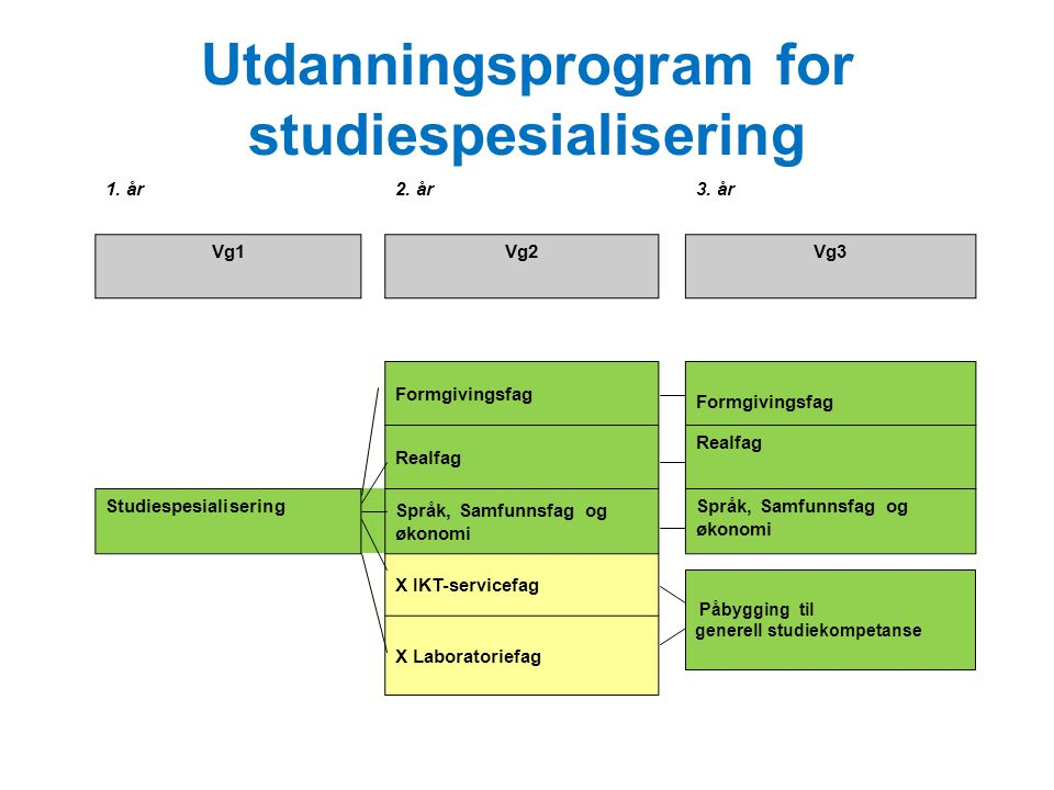 Utdanningsprogram for studiespesialisering