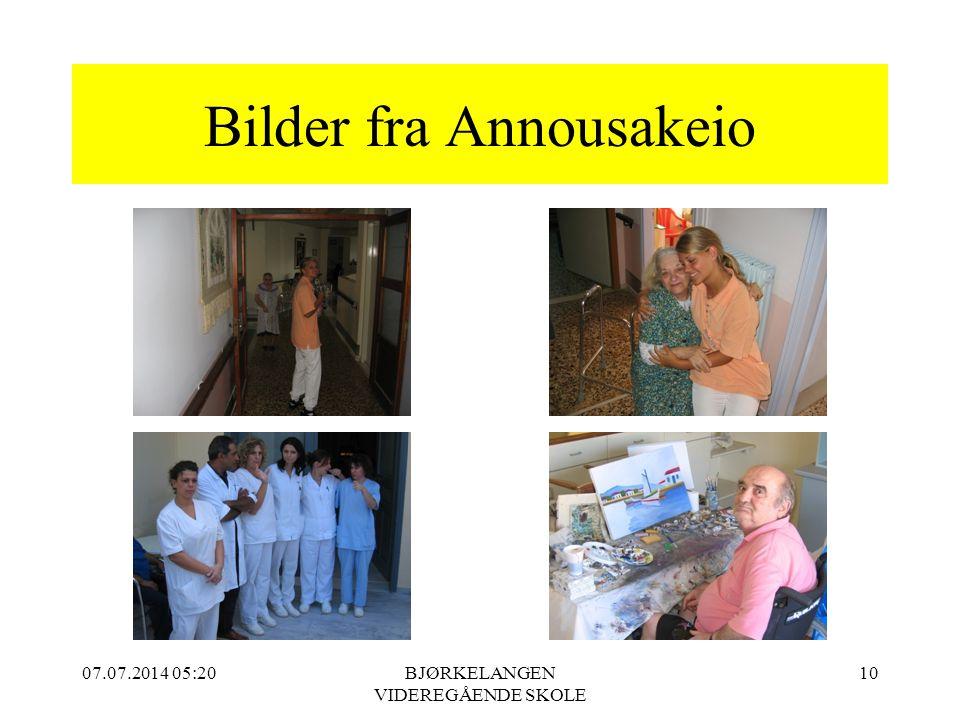 Bilder fra Annousakeio