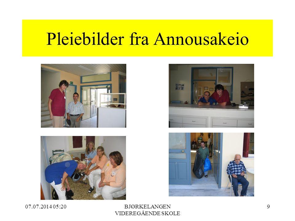 Pleiebilder fra Annousakeio