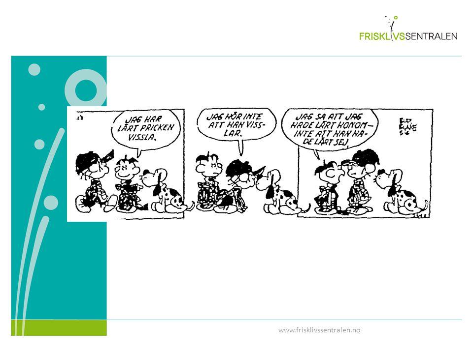 Illustrerer godt de fleste samtalesituasjoner mellom en behandler- pasient