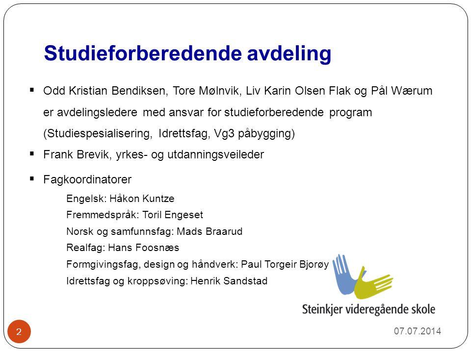 Studieforberedende avdeling