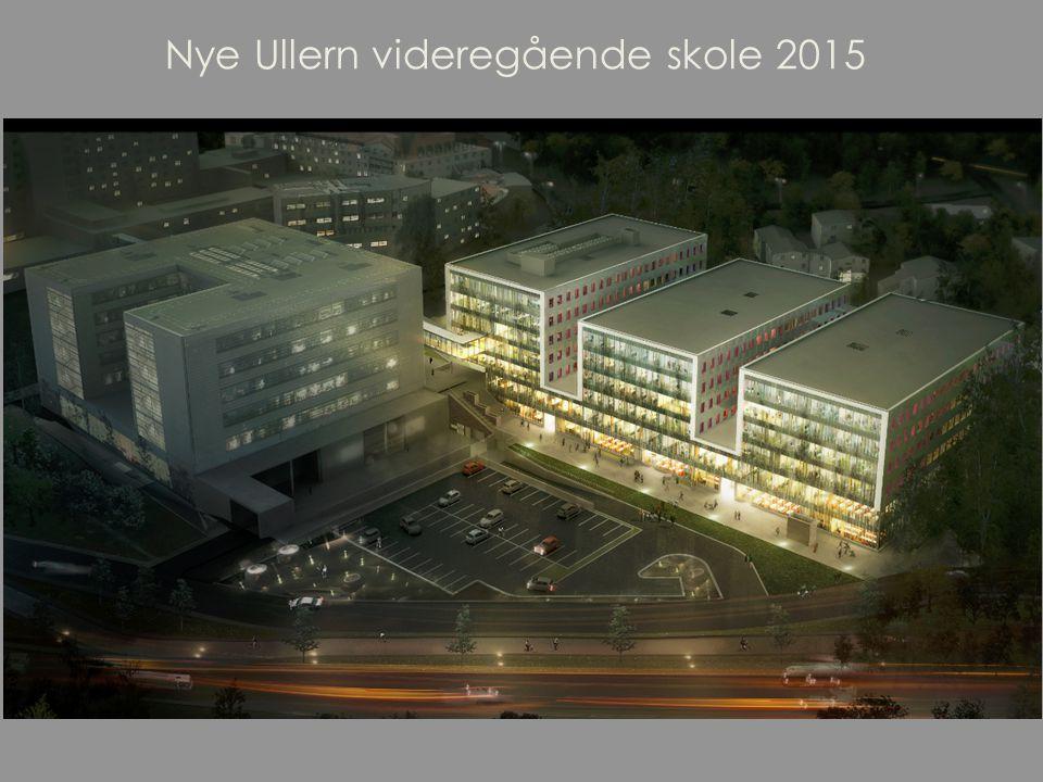 Nye Ullern videregående skole 2015