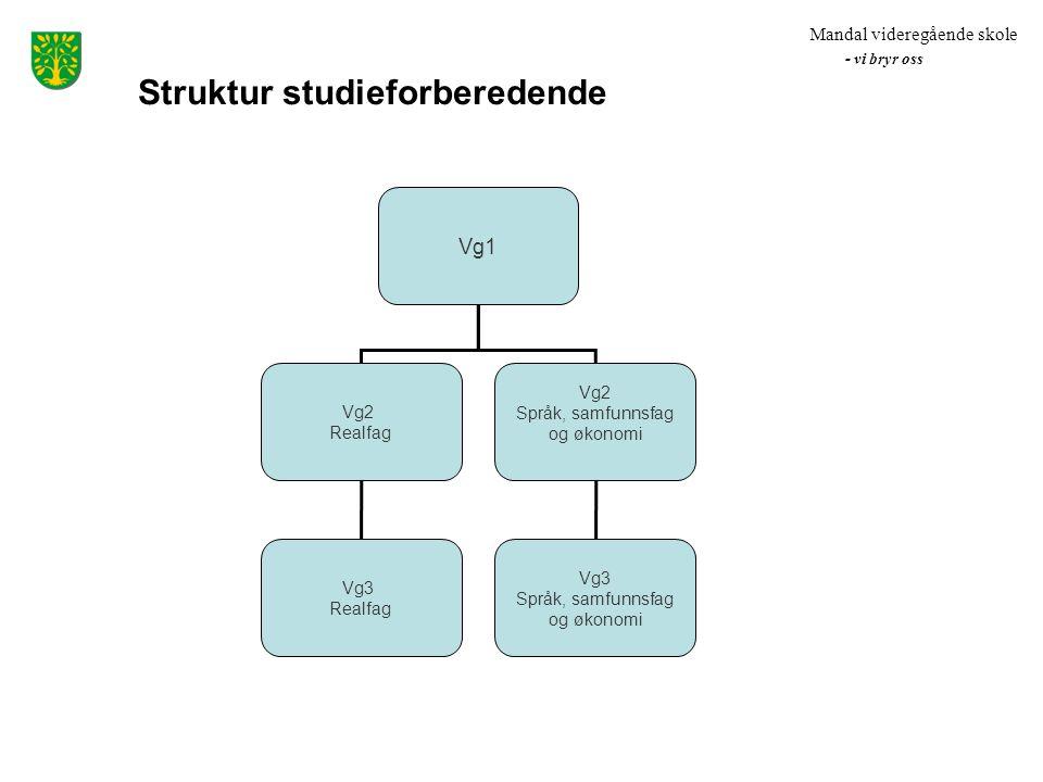 Struktur studieforberedende
