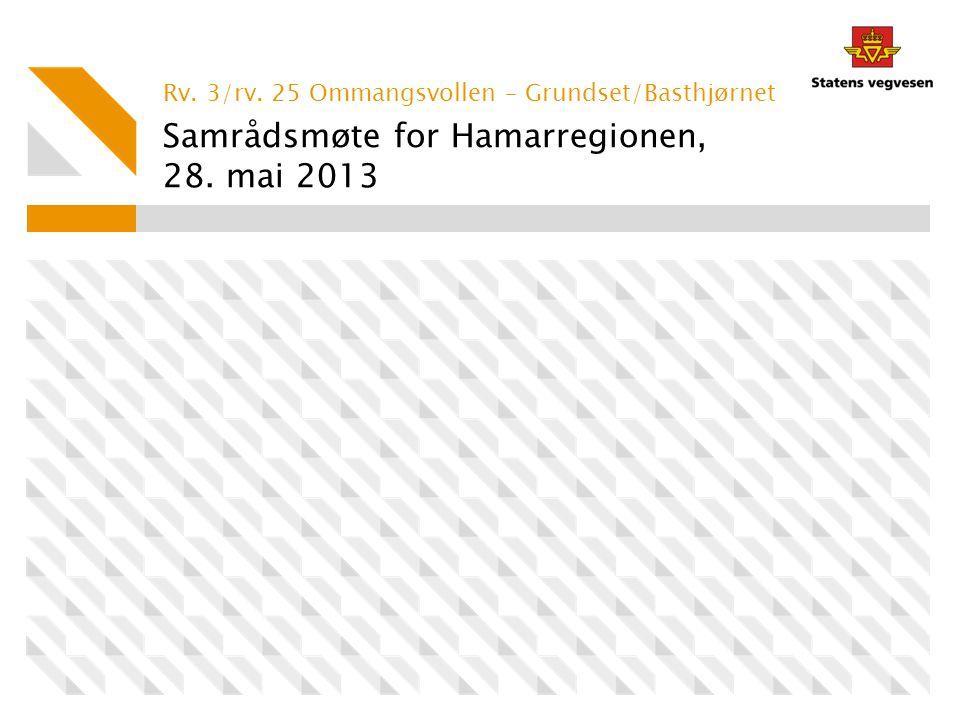 Samrådsmøte for Hamarregionen, 28. mai 2013