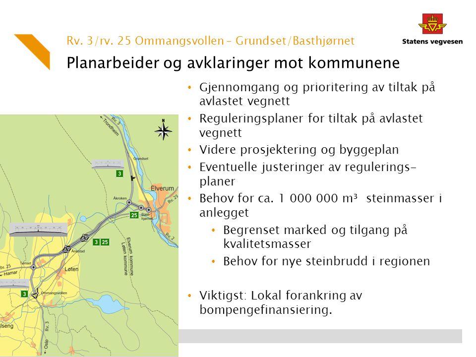 Planarbeider og avklaringer mot kommunene