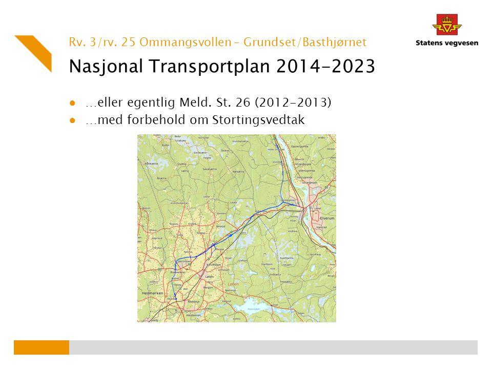 Nasjonal Transportplan 2014-2023