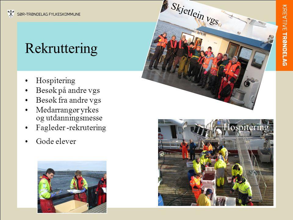 Rekruttering Skjetlein vgs Hospitering Hospitering Besøk på andre vgs