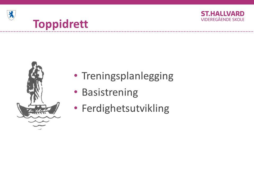 Toppidrett Treningsplanlegging Basistrening Ferdighetsutvikling