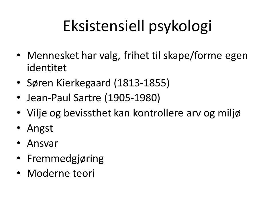 Eksistensiell psykologi