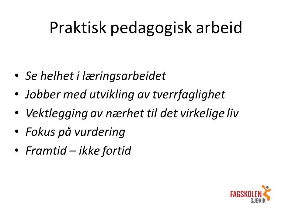 Praktisk pedagogisk arbeid