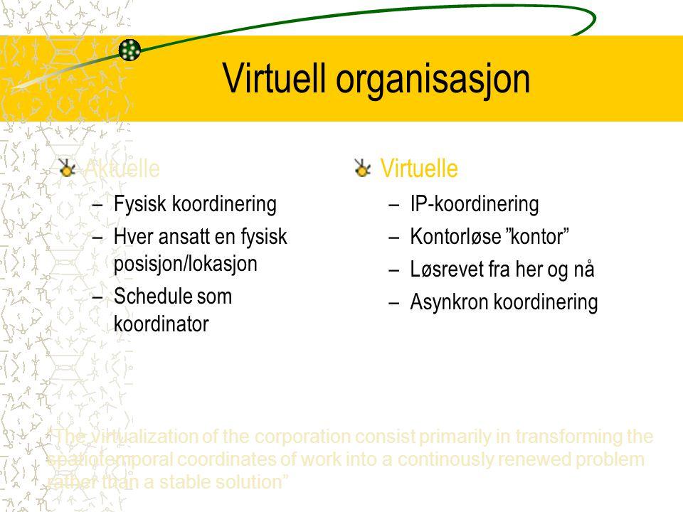 Virtuell organisasjon