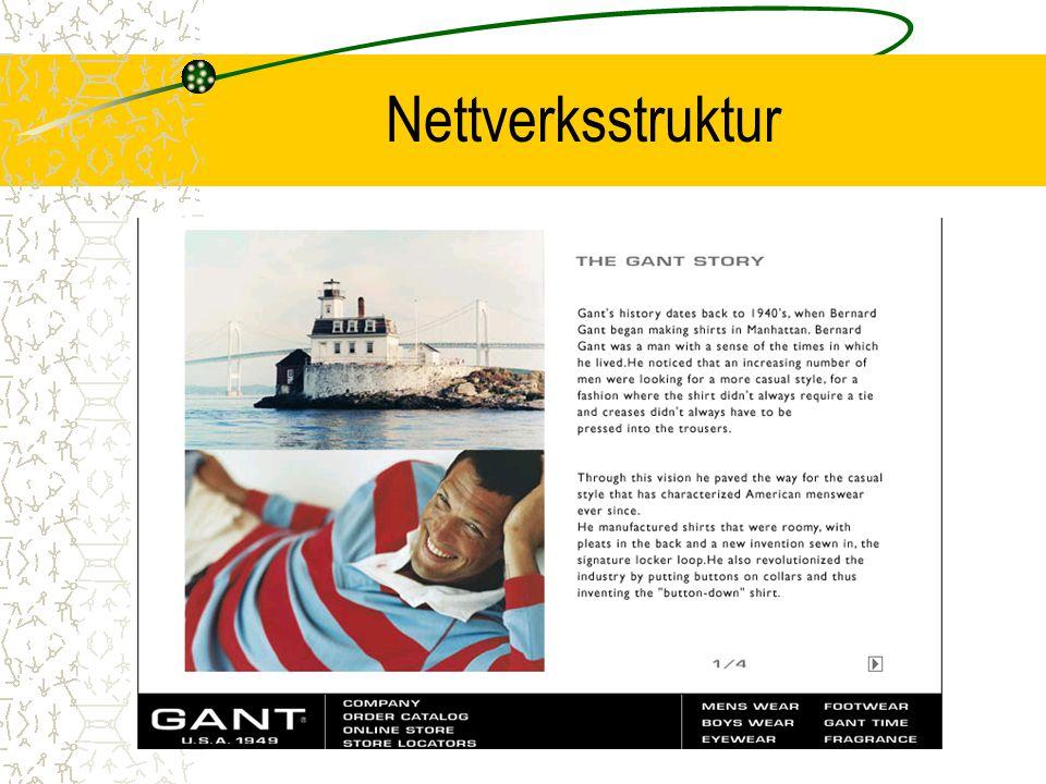 Nettverksstruktur