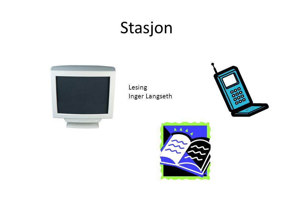 Stasjon Lesing Inger Langseth