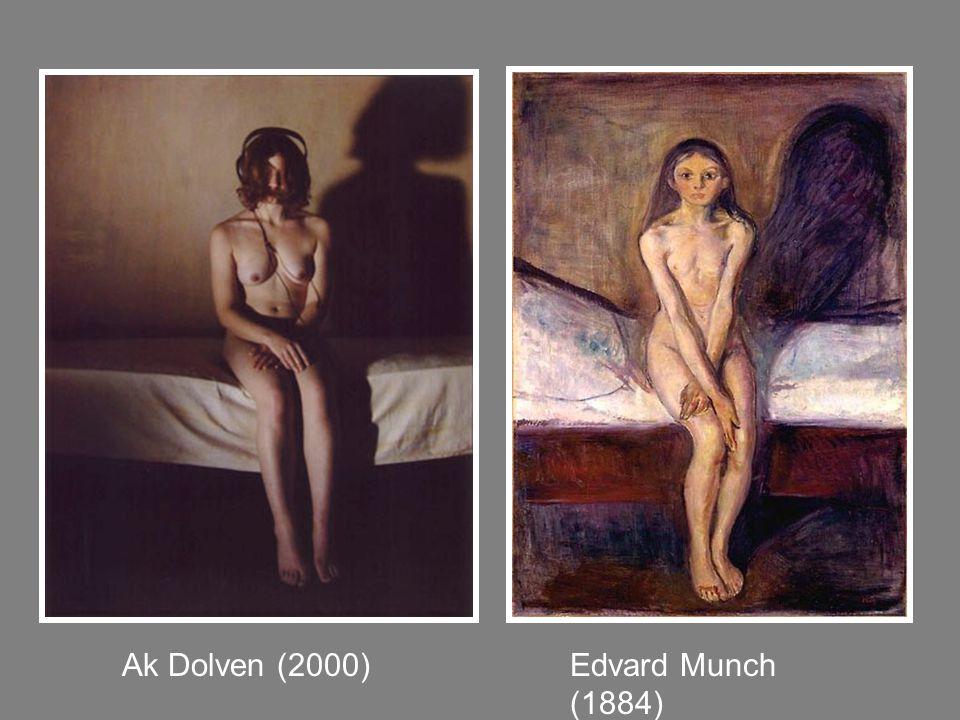 Ak Dolven (2000) Edvard Munch (1884)