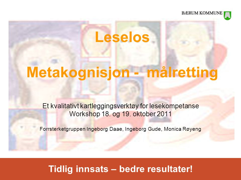 Leselos Metakognisjon - målretting