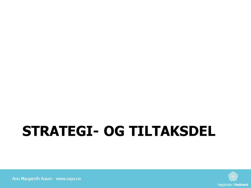 Strategi- og tiltaksdel