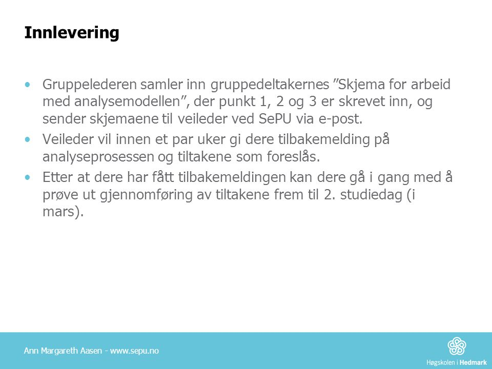 Innlevering