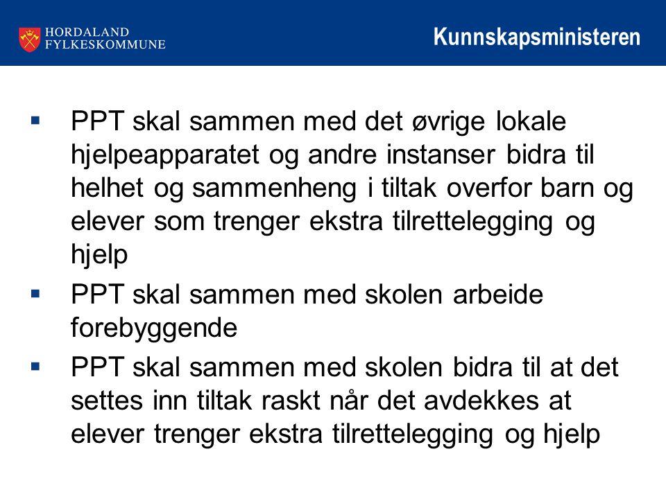 PPT skal sammen med skolen arbeide forebyggende