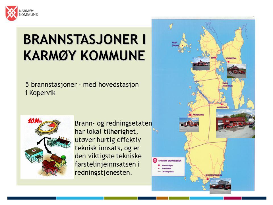 BRANNSTASJONER I KARMØY KOMMUNE
