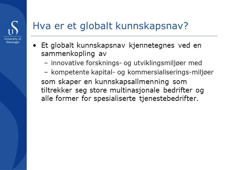 Hva er et globalt kunnskapsnav