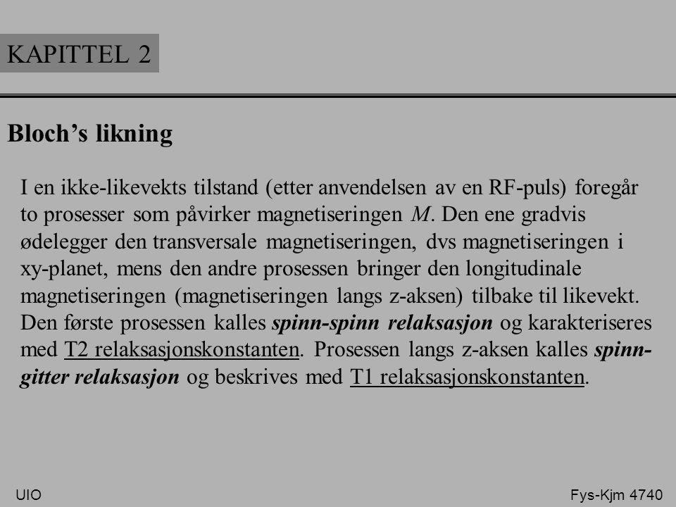 KAPITTEL 2 Bloch's likning