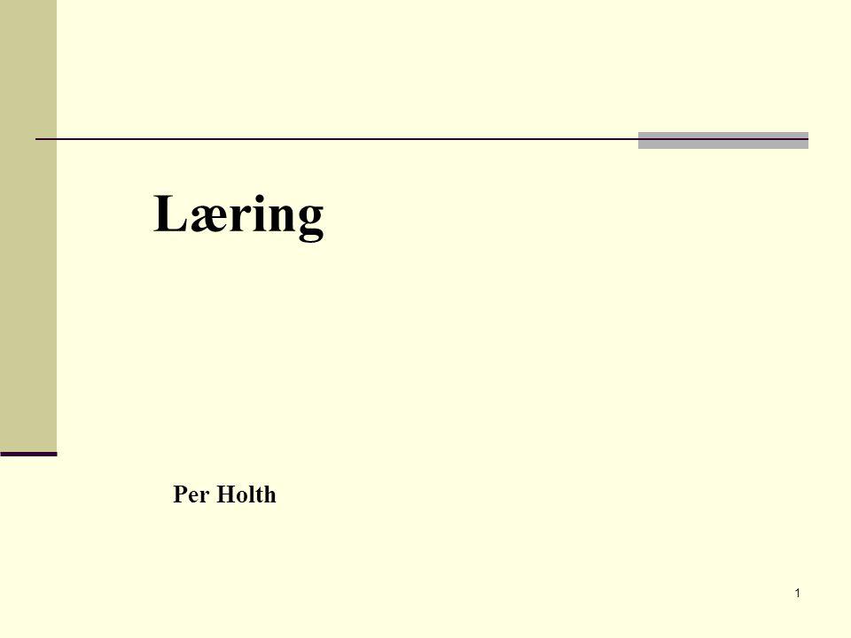 Læring Per Holth