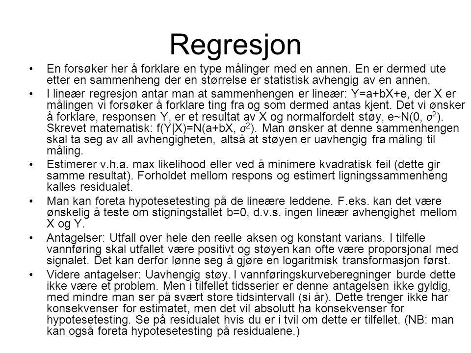 Regresjon