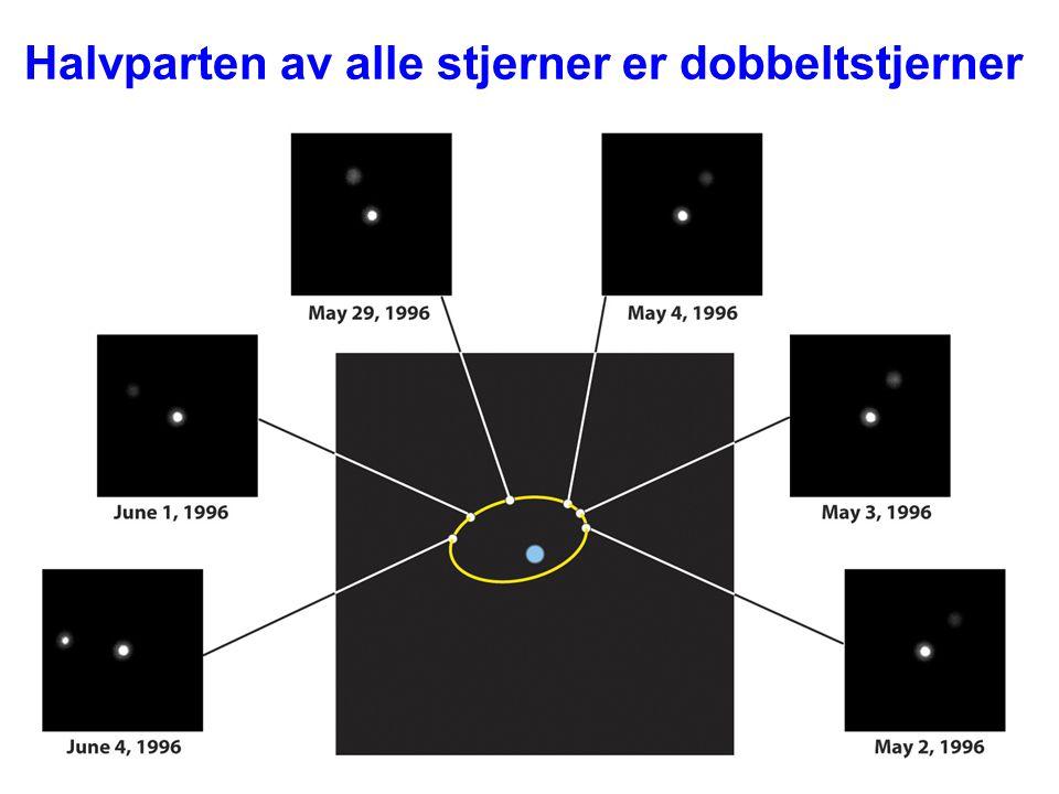 Halvparten av alle stjerner er dobbeltstjerner