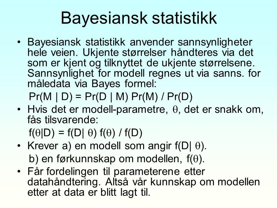 Bayesiansk statistikk