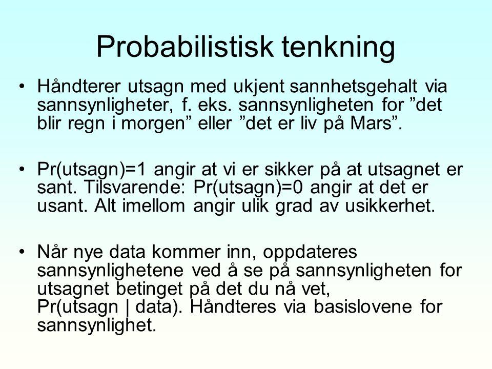 Probabilistisk tenkning