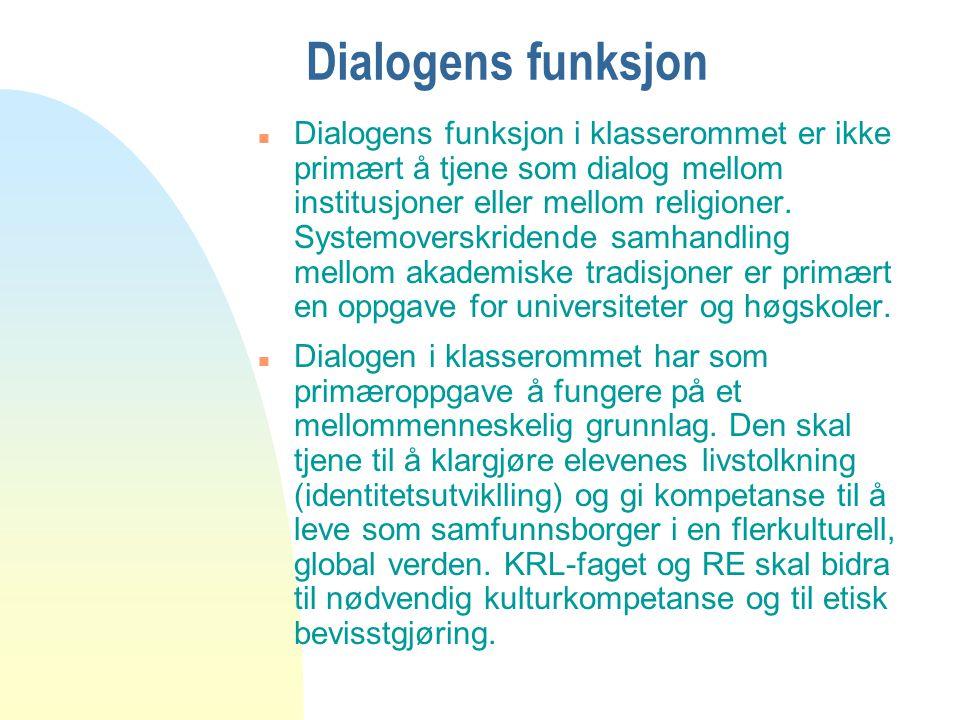 04.04.2017 Dialogens funksjon.