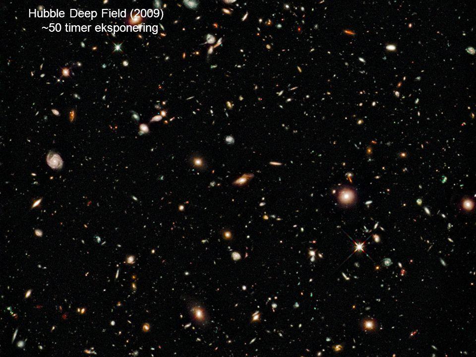 Hubble Deep Field (2009) ~50 timer eksponering AST1010 - Galakser