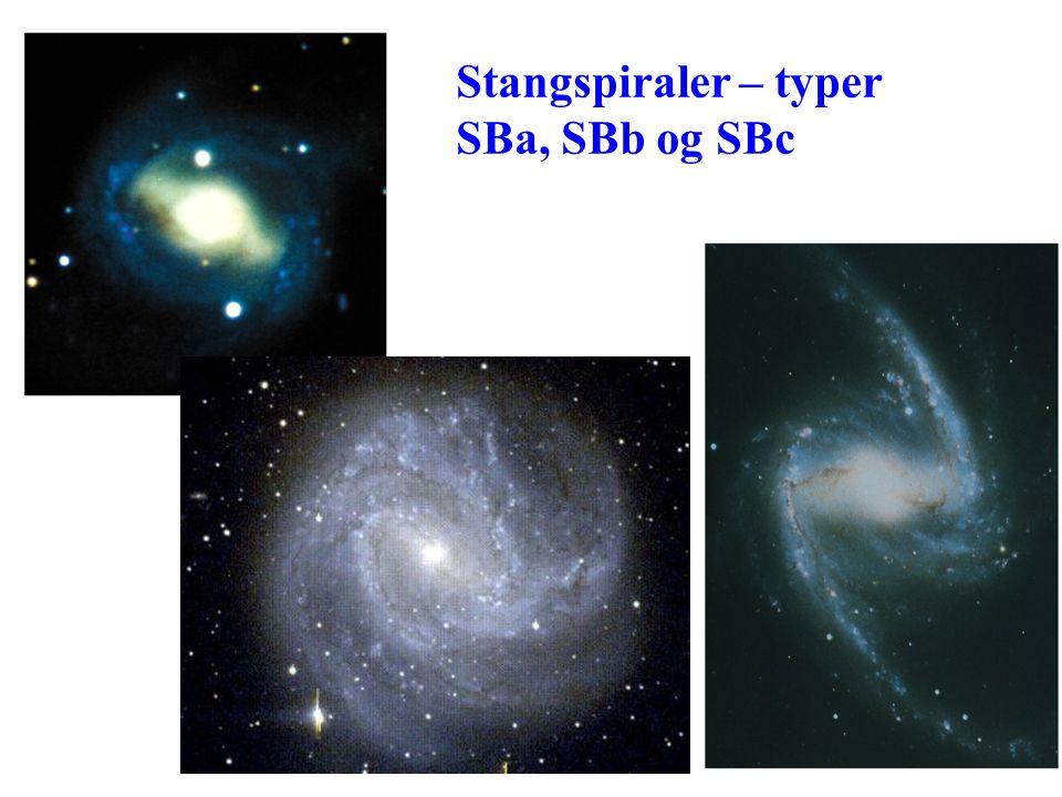 Stangspiraler – typer SBa, SBb og SBc AST1010 - Galakser