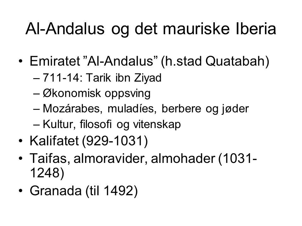 Al-Andalus og det mauriske Iberia