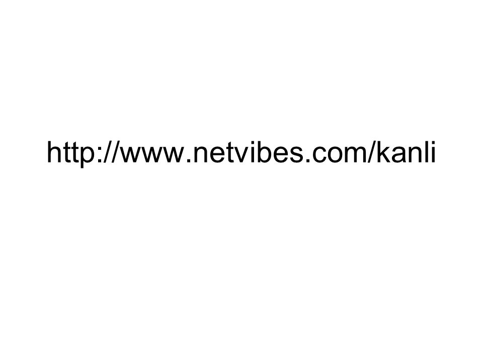http://www.netvibes.com/kanli