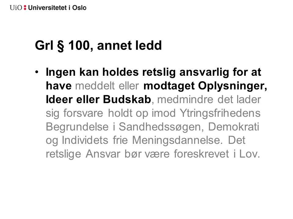 Grl § 100, annet ledd