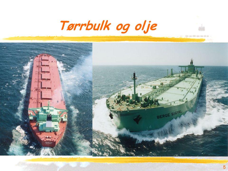 Tørrbulk og olje