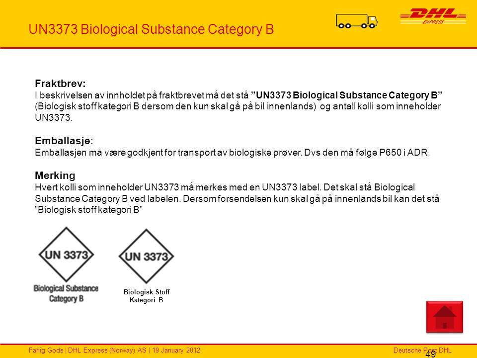 UN3373 Biological Substance Category B