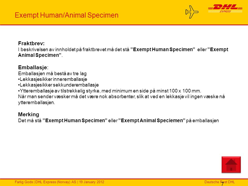 Exempt Human/Animal Specimen