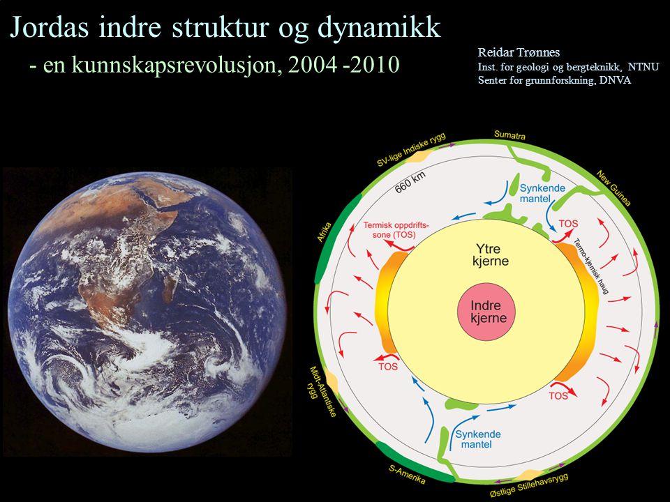 Jordas indre struktur og dynamikk
