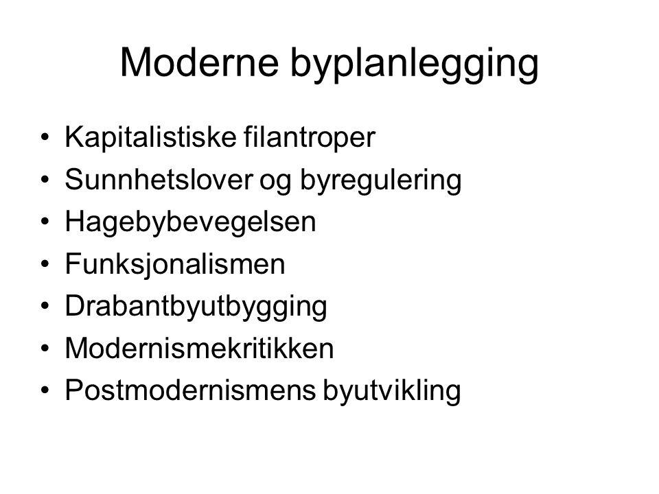 Moderne byplanlegging