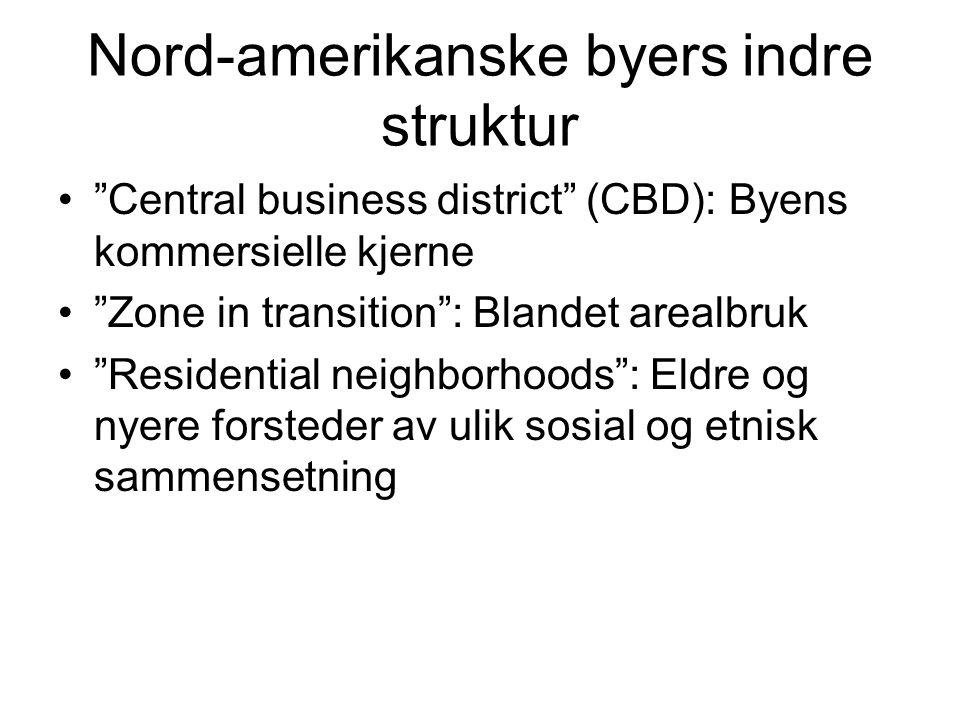 Nord-amerikanske byers indre struktur